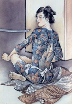 pretty pictures of naughty samurai boys Japanese Drawings, Japanese Tattoo Art, Japanese Prints, Japanese Illustration, Illustration Art, Arte Ninja, Geisha Art, Japan Painting, Traditional Japanese Art
