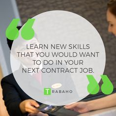 Learn new skills that you would want to do in your next contract job. #Trabaho #OFW #Jordan #Kabayan #NewSkills #NewWork #NewExperience