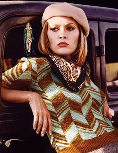 "Faye Dunaway: ""Bonnie & Clyde"" - 1967"