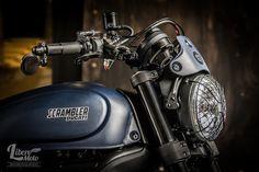 Ducati Scrambler Plug and Play by Libero Moto #motorcycles #scrambler #motos | caferacerpasion.com