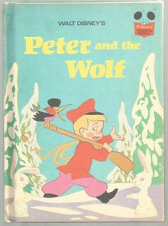Vintage-Disneys-Wonderful-World-of-Reading-Book-PETER-AND-THE-WOLF