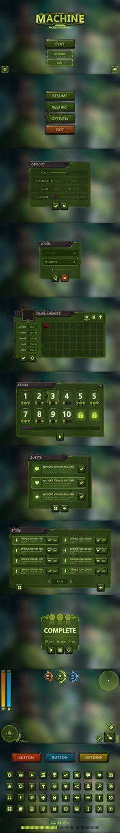 Machine Mobile UI