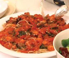 Pasta With Chicken, Feta & Tomato Recipe