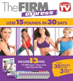 The Firm Express 30-Day Fitness Box Set : $18.99 (reg. $59.95)