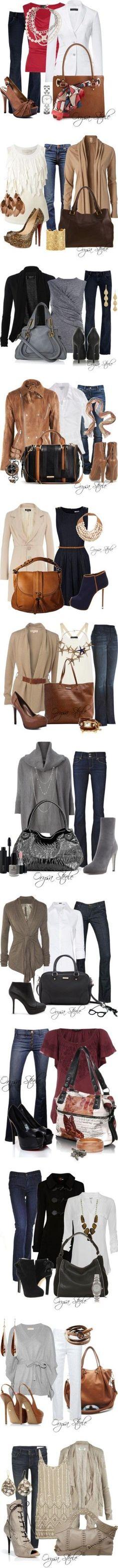 Super cute outfits.: