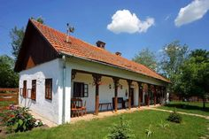 Traditional Slovak farm house. Love it, just like grandma's