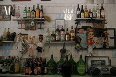 """Beverages wall"" on ""Bar do Mineiro"" in Santa Teresa neighborhood in Rio de Janeiro. Photo by Américo Vermelho"