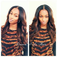 """Queen Nala Hair Can Be Dye.Can Be Curl Check The Link On Your Bio Brazilian Body Wave Length:18""""20""""22""""  IG Shared By Honey Client @ElizabethRiicketts  #queennalahair #virginhair #humanhair #newstyle"""