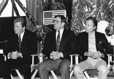 William Shatner, Leonard Nimoy and DeForrest Kelley.