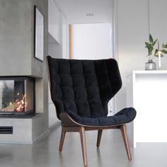 The Mammoth chair is designed by the Danish designer Rune Krøjgaard and Norwegian designer Knut Bendik Humlevik, the Mammoth Chair is a welcomi.