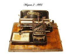 antique typewriters - Mignon 2 - 1905