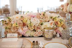blush, cream, and good just scream femininity and romance!