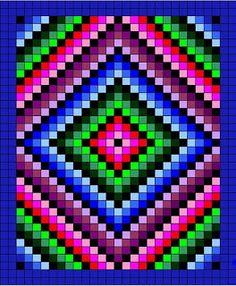 Mil ideias em croche: Colcha de crochê