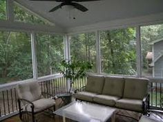 Image result for images of screened in porches