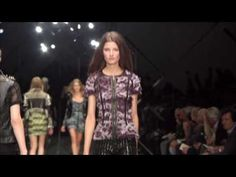 Burberry Prorsum Womenswear Spring/Summer 2011, LEATHER LOVE <3 Amazing collection !
