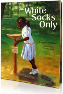 White Socks Only, Written by: Evelyn Coleman | Read by: Amber Rose Tamblyn. http://www.storylineonline.net/white-socks-only/