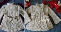 Elizabeth Knite Coat [Free Pattern] | Styles Idea