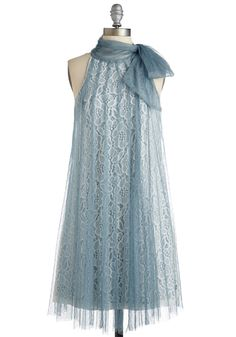 New Arrivals - Time and Grace Dress in Dusty Blue