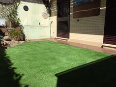cesped artificial paraiso xtra de tarkett en jardin de las rozas