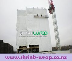 Shrink wrap can be used to wrap buildings. It can wrap roofs after hurricanes, earthquakes, tornadoes and other disasters. Shrink wrap can be used for environmental containments to facilitate safe removal of asbestos, lead and other hazards. http://shrink-wrap.co.nz/services/construction_renovation