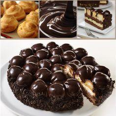 Ingredients For chocolate sponge cake (you can also .- Ingredienti Per il pan di spagna al cioccolato (potete anche acquistarlo pronto)… Ingredients For chocolate sponge cake (you can also buy it ready) …, -