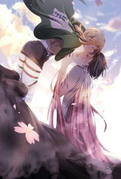Historia & Ymir - Shingeki no Kyojin/AoT Mikasa, Armin, Attack On Titan Ships, Attack On Titan Fanart, Yuri Anime, Manga Anime, Anime Art, Humour Geek, Ymir And Christa