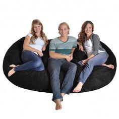 5 Foot Memory Foam Bean Bag Chair | SIT ~ UPON | Pinterest | Bean Bag Chair,  Bean Bags And Memory Foam