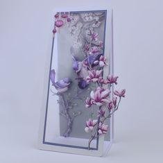 Carnation Crafts dado corta Cherry Blossom X 2 Tarjeta Haciendo Álbum de recortes manualidades