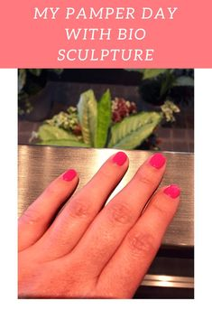 My pamper day with Bio Sculpture. I went to The Mondrian in London to meet with Bio Sculpture where I learnt about the gel polishes that care for the natural nail rather than damaging it under the colour #BioSculptureGB #manicure #gelnails
