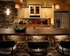 Love the color and textures. Very earthy and masculine.