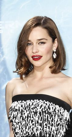 Emilia Clarke is a British actress. She was born in London and grew up in Berkshire, England. Her father is a theatre sound engineer…