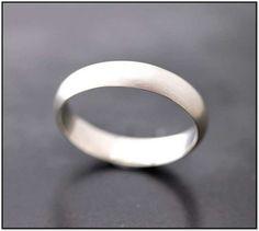 Matte Platinum Mens Wedding Band Wedding Ring For Him, Wedding Men, Wedding Tips, Wedding Bands, Wedding Stuff, Cool Rings For Men, Groom And Groomsmen, Men's Grooming, Eyeglasses