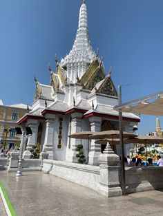 """See 3478 photos from 20635 visitors about quiet, tea, and parking. """"Easy to miss, right across from the Grand Palace, NE side. Bangkok, Palace, Thailand, Tower, Mansions, House Styles, City, Building, Travel"""