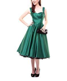vintage style tea dress zulily