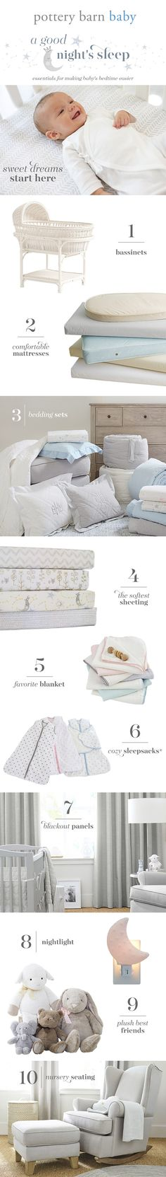 We get it, sometimes it's hard to get your little one to sleep. Here are a few essentials, from supersoft bedding to blackout panels, that make sound sleep just a bit easier.