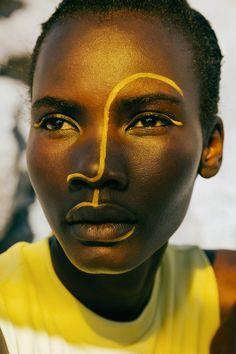 Makeup Inspo, Makeup Art, Makeup Inspiration, Beauty Makeup, Eye Makeup, Makeup Photography, Portrait Photography, African Tribal Makeup, Beauty Shoot