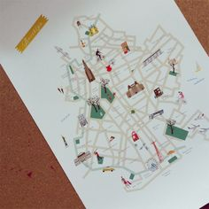 Brooklyn Map.... katie, how cool is this?