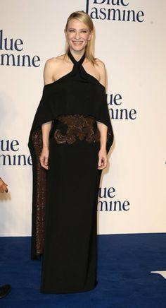 Cate Blanchett on the red carpet.