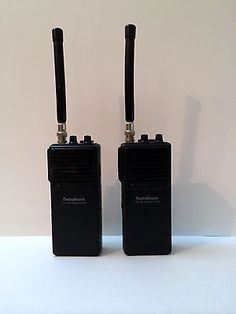 Set of Two VHF-FM Business Band Transceiver 2 Channel Great Condition