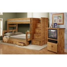 The Malcolm Bunk - Reg. Price: $389.99 Sale Price: $289.99. This Twin Over Full Stackable Bunk Bed would be a wonderful addition to your home.  If you don't need both beds in one room or your kids want their own space, this bunk bed can be separated into a twin bed and a full bed. The Four-Drawer Under Bed Unit gives you storage space for clothing, toys or extra linens. Hurry! Offer ends soon! While supplies last!