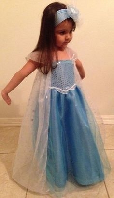 Elsa Frozen Princess Snowqueen Tutu Party Costume by TitasBoutique Disney Princess Dresses, Frozen Princess, Disney Dresses, Girls Dresses, Frozen Queen, Queen Elsa, Girls Frozen Dress, Frozen Elsa Dress, Robes Disney