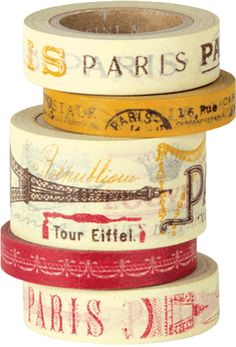 Cavallini & Co Masking Tape Vintage Paris