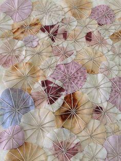 raffaela gottardelli hand dyed cotton, appiqué, embroidery: work in progress