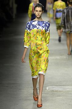 Dries Van Noten Spring 2008 Tunic Dress Profile Photo