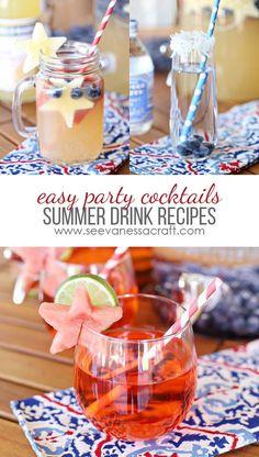 Recipe: 3 Summer Cocktails and Mocktails