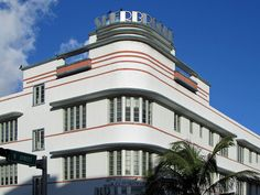 Sherbrooke Hotel building at 901 Collins Avenue in the South Beach area of Miami Beach, Florida.