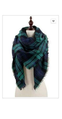 SCARVES | All About the Plaid - Green