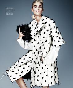 Alison Nix Channels Cruella de Vil for Harper's Bazaar Latin America by Jason Kim