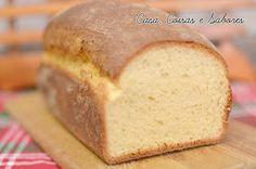 Casa, Coisas e Sabores: Pão simples de massa com ovos