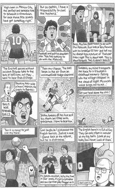 David Squires on … Diego Maradona and the Hand of God | Football | The Guardian  #DavidSquires #Education #EnglishLanguage #teaching
